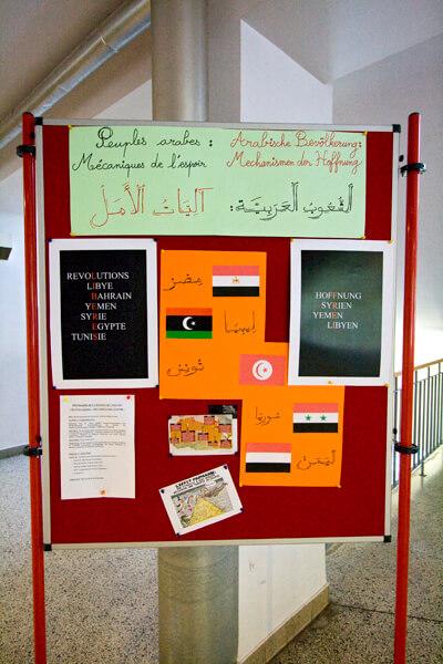 """Der Arabische Frühling: Das Projekt """"Motor der Hoffnung"""" lädt zum Nachdenken ein"""
