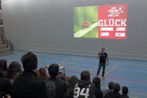 Motivationstrainer Joachum Franz am DFG