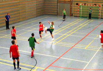 Sportturnier der Klassenstufe 8 am Tag der Offenen Tür 2010