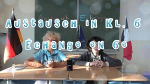 Schulinterner Austausch in Klasse 6