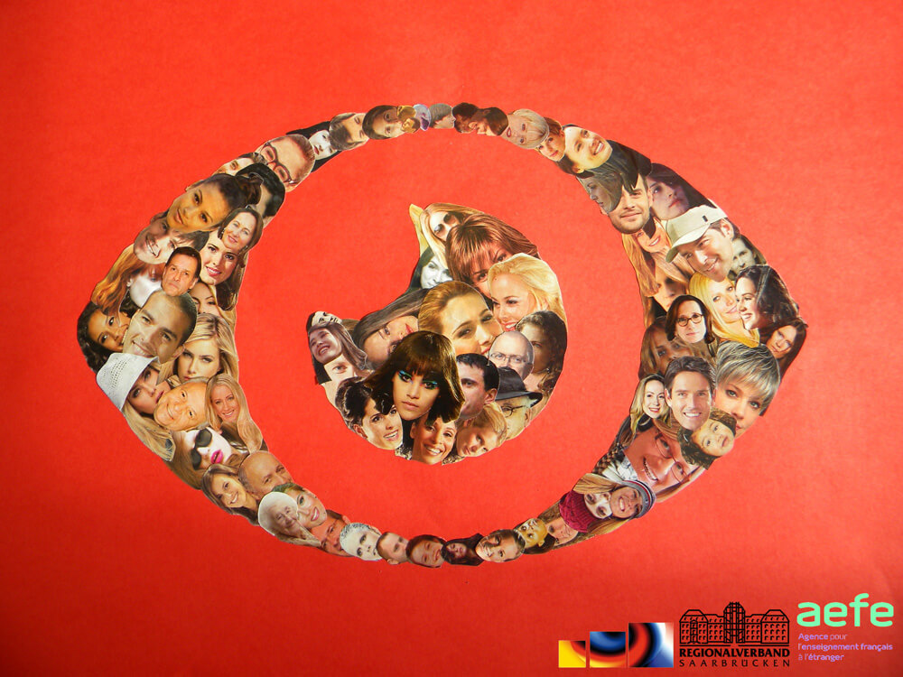 "Kunstprojekt ""Portraits d'Europe"""