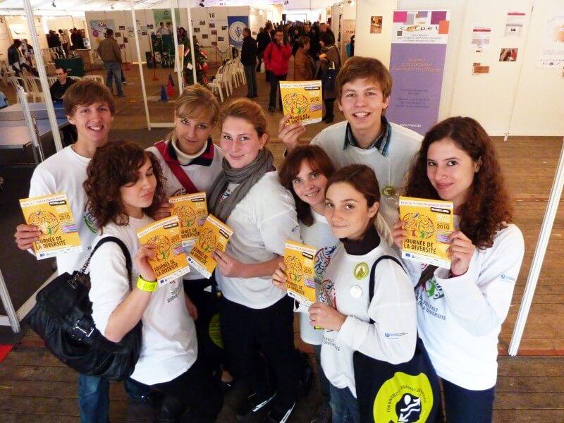 """DFG-Schüler beim """"Tag der Vielfalt"""" in Metz"""