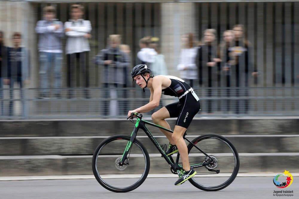 Le LFA et son équipe de triathlon remportent à nouveau un grand succès lors de la 96e finale fédérale «Jugend trainiert für Olympia» à Berlin 2019