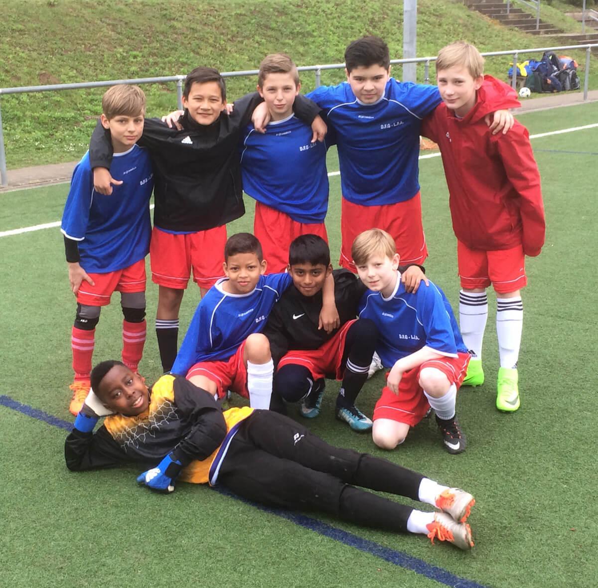 Jugend trainiert für Olympia – DFG-Fußballteam in Zwischenrunde