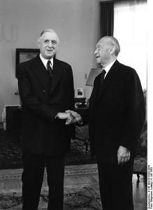 Konrad Adenauer & Charles de Gaulle (1963)