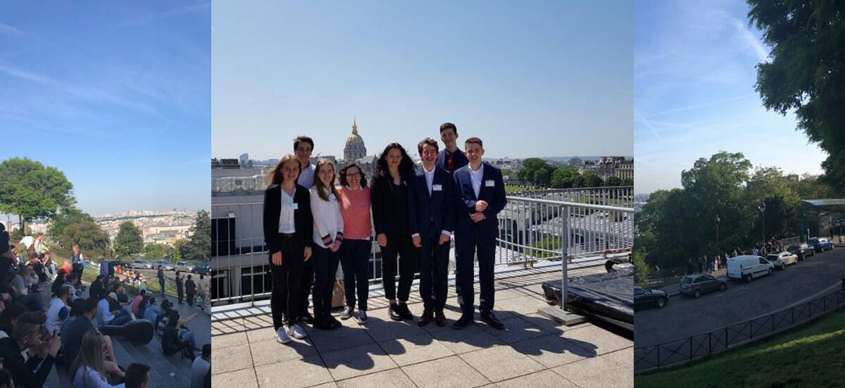 """Projekt """"Junge europäische Gesetzgeber"""" in Paris"""