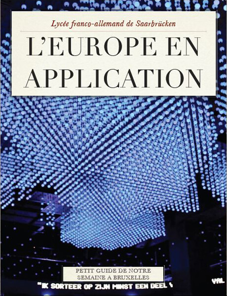 """L'Europe en application"" – Klassenfahrt nach Brüssel"