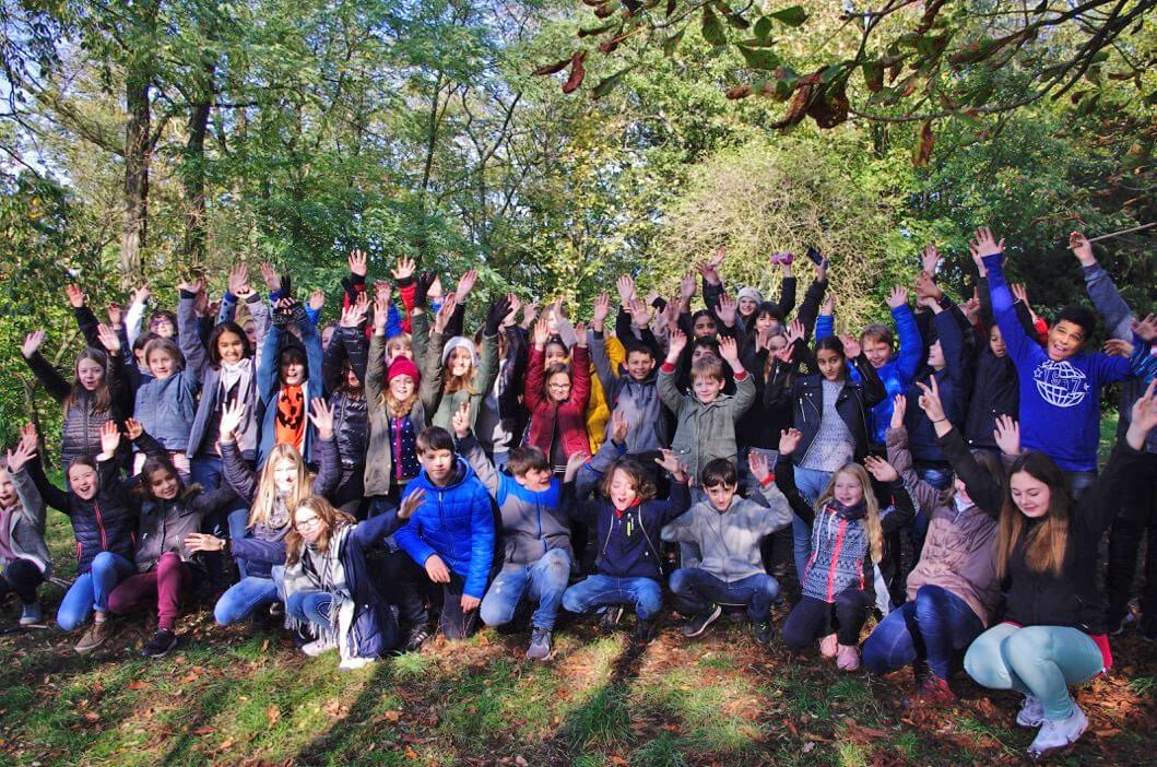 Interner Austausch in Klasse 6 und Landart-Projekt