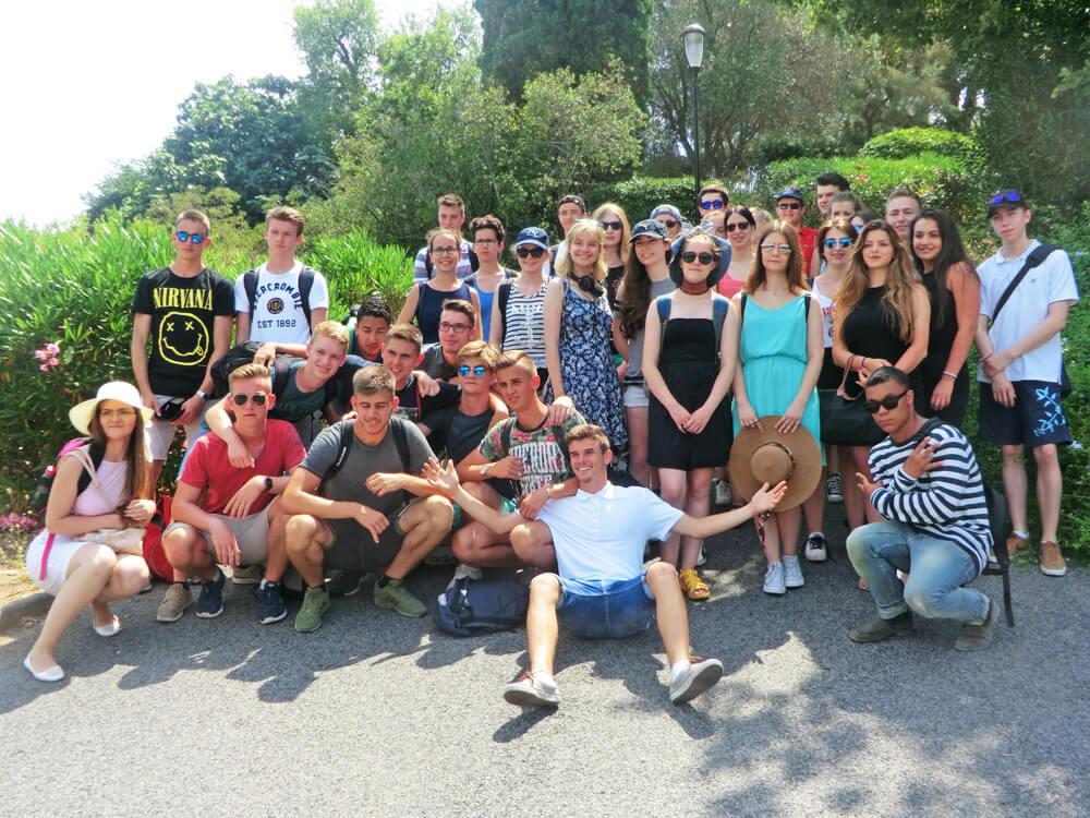 Voyage en Provence des classes de 1ères du 19 au 25 juin 2017