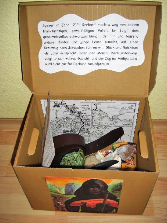 """Reise ins Mittelalter – """"Der schwarze Mönch"""" als fächerübergreifende Lektüre"""