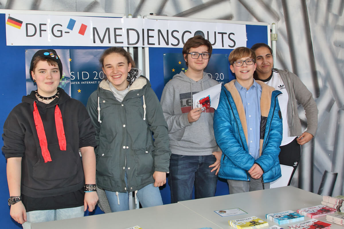 DFG-Medienscout-Team 2020