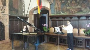 A la mairie de Sarrebruck