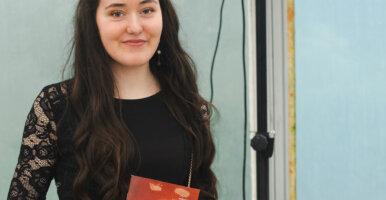 Florence Kruchten remporte la 2e place du concours d'écriture «Wortsegel»