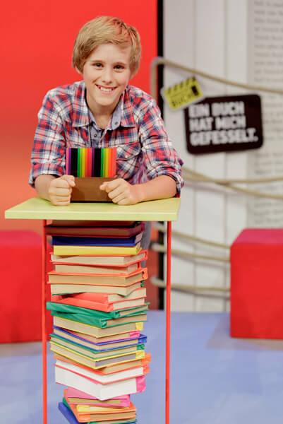 DFG-Schüler Tom Niesporek bester Vorleser Deutschlands