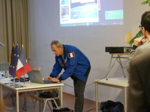 Le spationaute Jean-François Clervoy au LFA