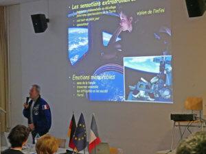 Le spationaute Jean-François Clervoy au LFA (Photo : Francesco Zimmermann)