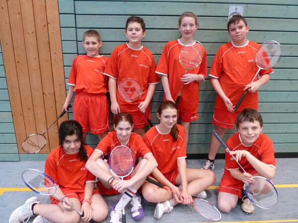 DFG-Team beim Badminton-Turnier in Wiebelskirchen