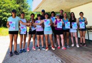 DFG Tennis-Mädchen werden souverän Saarlandmeister