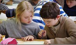 """Partnerschaft zwischen Klasse 6e und CM2 bei """"Mathematik ohne Grenzen Junior"""""""