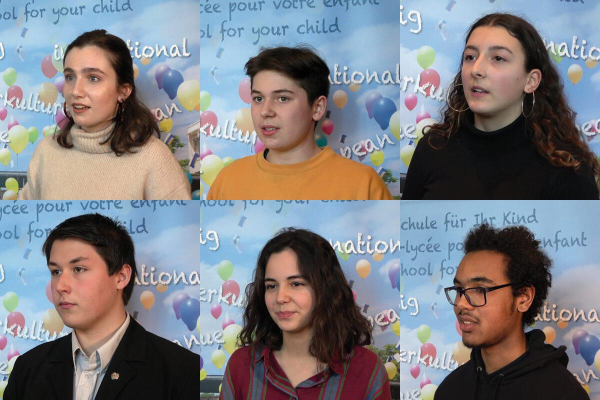 Vorstellung der Schülervertretungs-KandidatInnen 2019