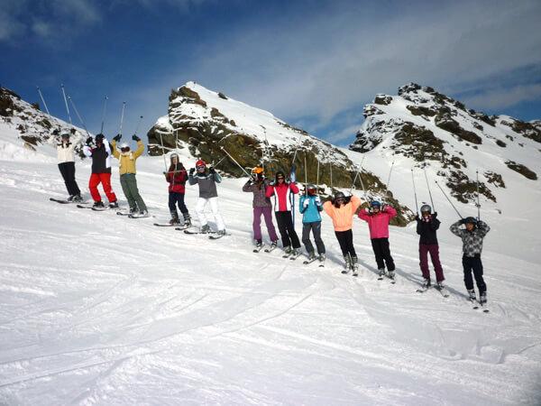 Séjour aux sports d'hiver dans la vallée de Pitztal du 14 au 19 février 2011