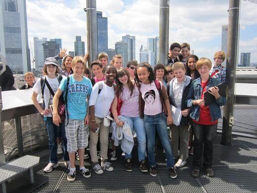 Ausflug der 6e1 und 5e1 nach Frankfurt
