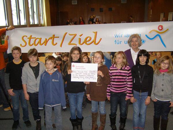 10.000 Euro für UNICEF