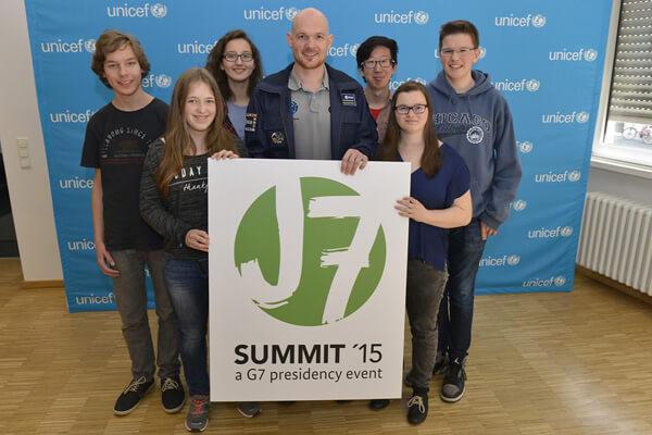 L'élève du LFA Yolanda Stabel participe au sommet international de la jeunesse, le J7