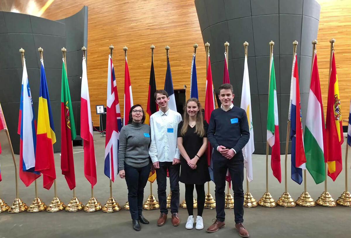 Réunion préparatoire du Parlement européen des lycéens