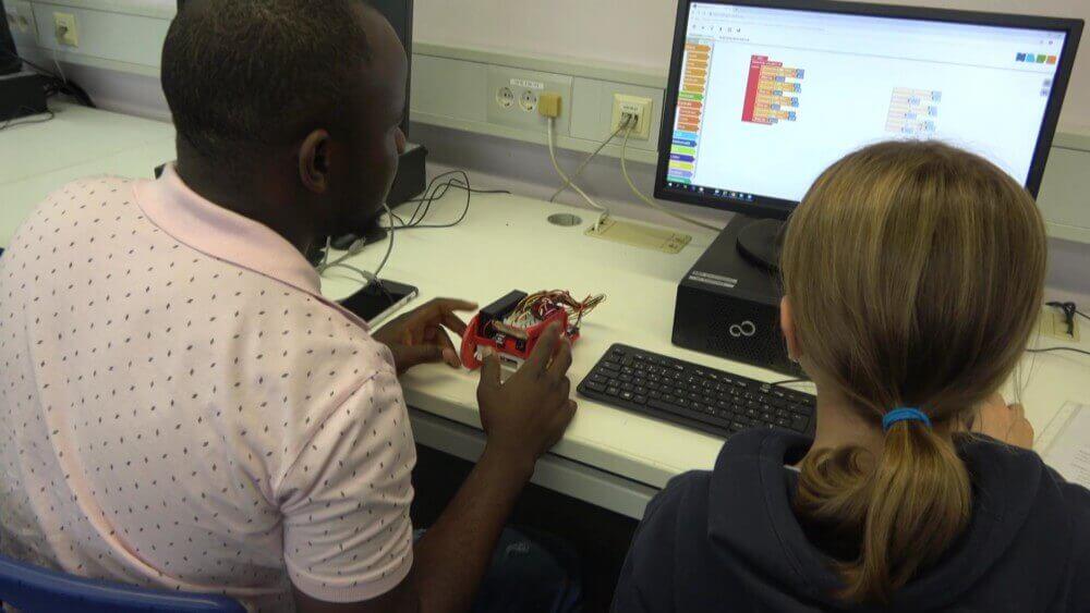 Grenzüberschreitendes Roboter-Projekt am DFG