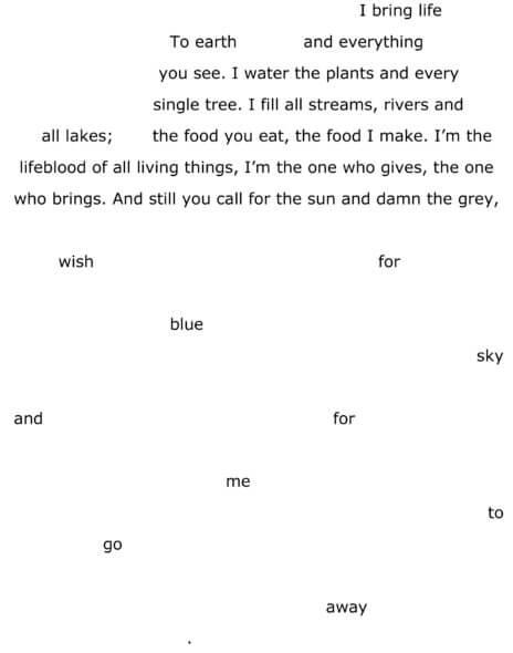 """The rain"" by Franziska Biber"