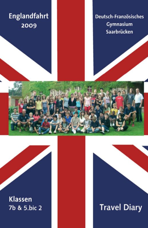 England 2009 – Travel Diary