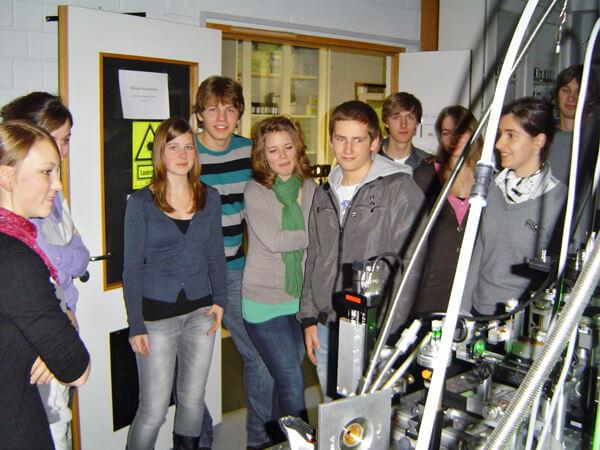DFG-Klassen Terminale S an der Universität Luxemburg