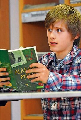 Tom Niesporek Gewinner auf Stadtebene beim Vorlesewettbewerb des Deutschen Buchhandels