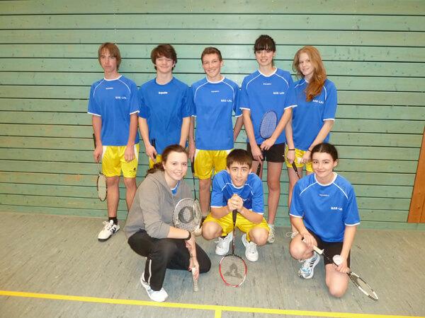 """DFG-Badminton-Team (WK 3) bei """"Jugend trainiert für Olympia"""""""
