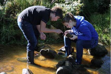Lehrfahrt der Klassen 2S1 & 2S2 – Untersuchung von Ökosystemen in Marlhes