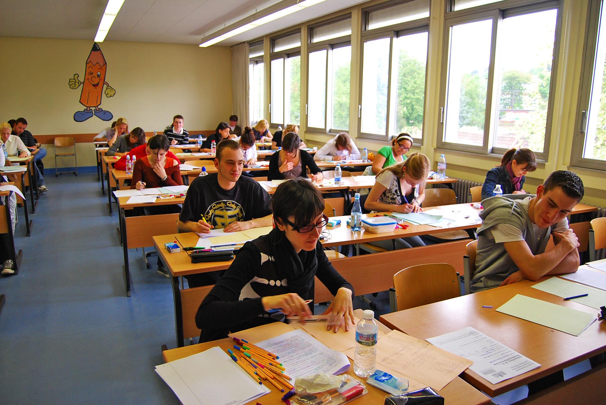 Eindrücke vom Abitur 2009