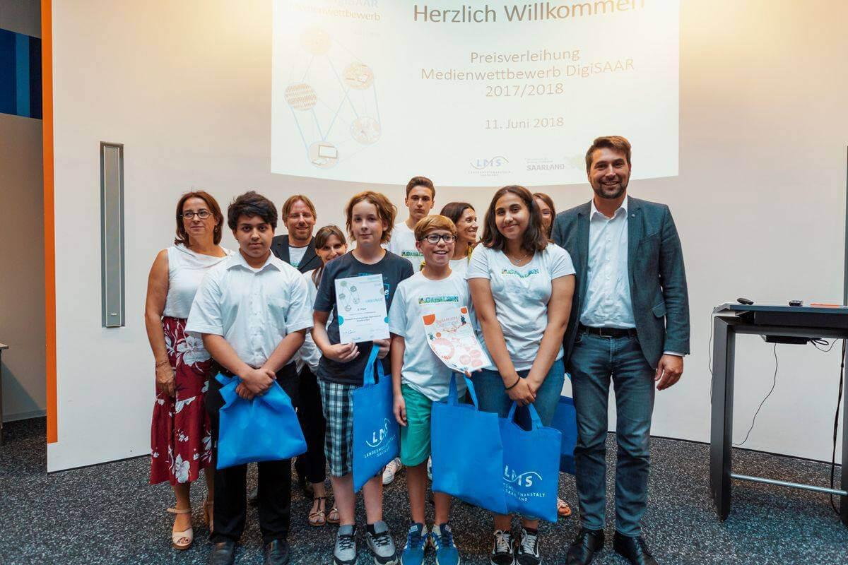 DFG-Onlinemagazin Camäléon Preisträger beim DigiSaar-Wettbewerb