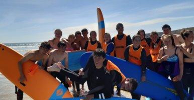16e séjour d'été des lycées franco-allemands à Camaret