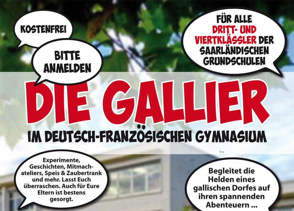 """Erlebnisabend """"Die Gallier"""" für Dritt- und Viertklässler der Grundschulen"""