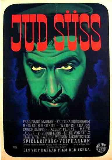 Projection du film de propagande nazie «Jud Süss»