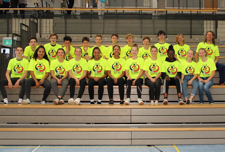 Freiburger DFG-Sportler holen sich den Sieg bei der 11. internationalen Schul-Olympiade knapp vor Saarbrücken