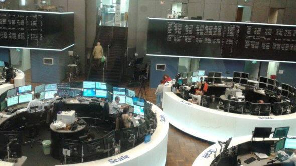 Visite à la bourse de Francfort