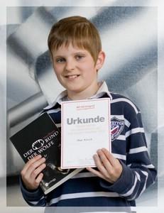 Max Kirsch Landessieger in Vorlesewettbewerb