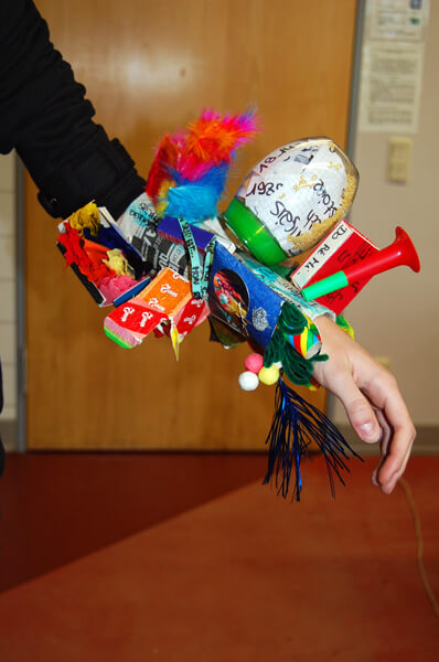 «La prothèse-sculpture» — Ein Kunstprojekt in Klasse 9
