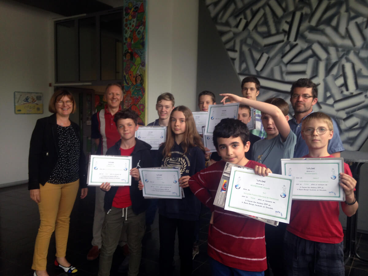 Mathematikwettbewerb Course aux nombres 2019