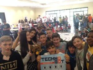 Concours Technobot transfrontalier le 24 mai à Thionville