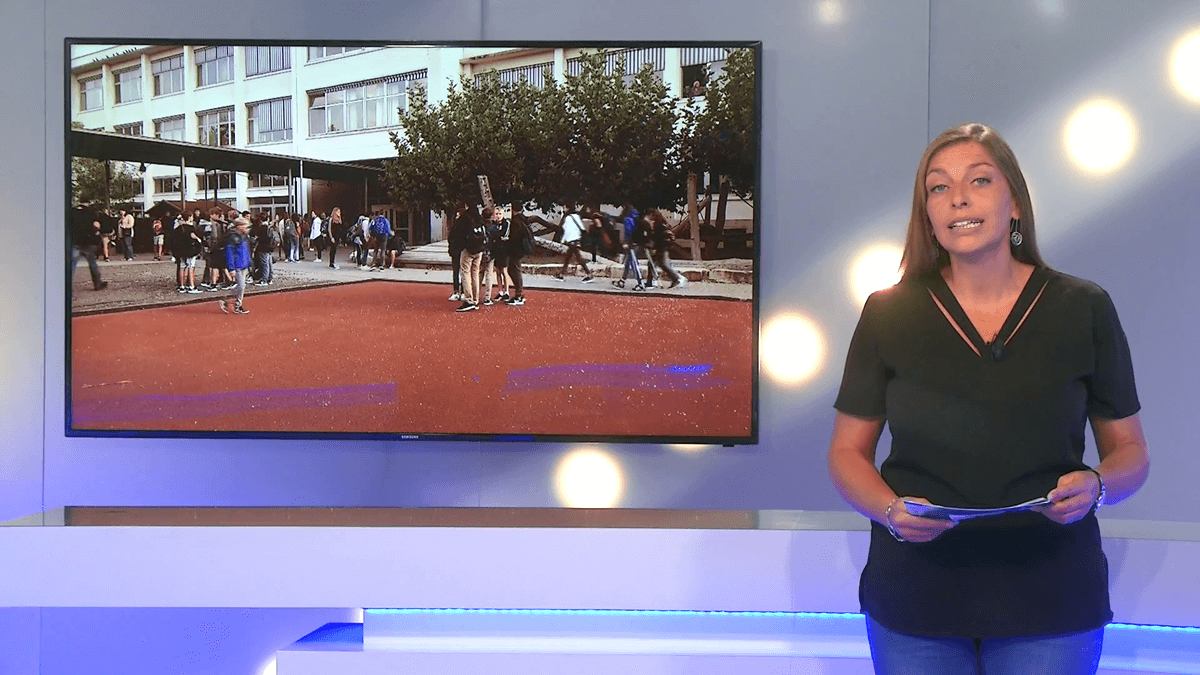 TV-Bericht über den Schuljahresbeginn am DFG