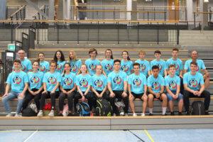 DFG-Olympiade 2018: Team DFG Saarbrücken
