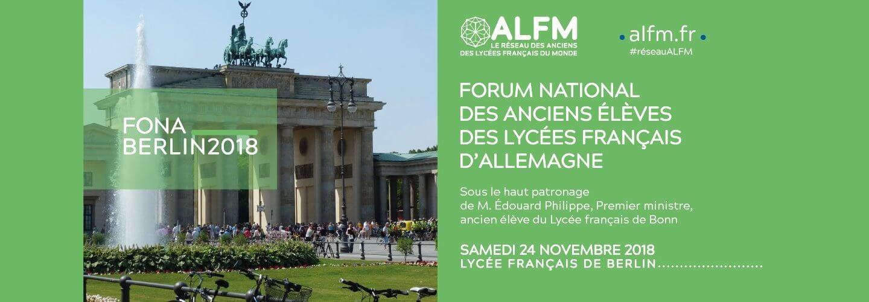 Forum National des anciens élèves des lycéens français d'Allemagne